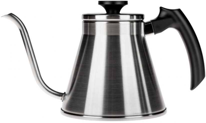 Hario Fit V60 Drip Kettle 1,2 l, Hairline Silver