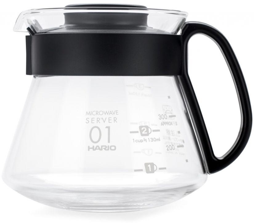 Hario V60 Range Microwave Server kahvikannu koko 01, 360 ml