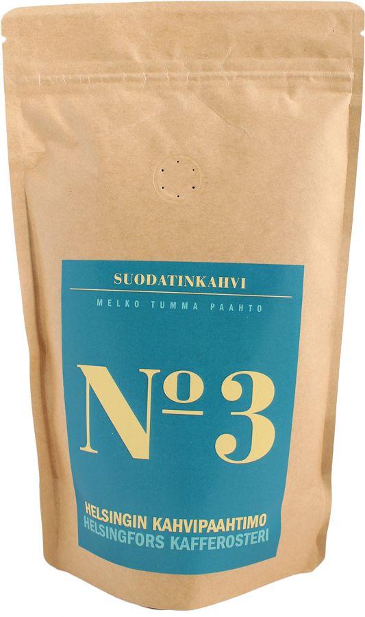 Helsingin Kahvipaahtimo Blend No 3 250 g