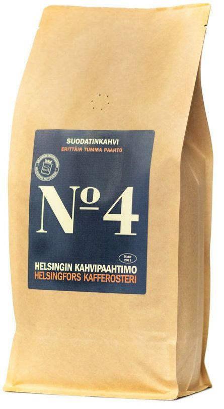 Helsingin Kahvipaahtimo Blend No 4 1 kg