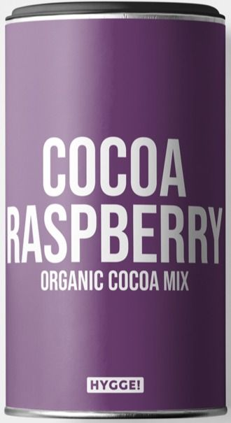 Hygge Organic Cocoa Raspberry kaakakojuomajauhe 250 g