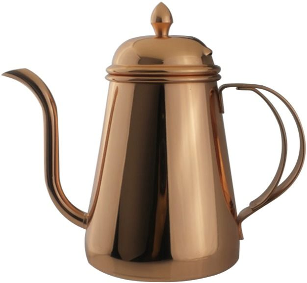 JoeFrex Drip Kettle With Lid 600 ml, Copper