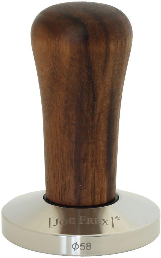 JoeFrex tamper 58 mm med trähandtag