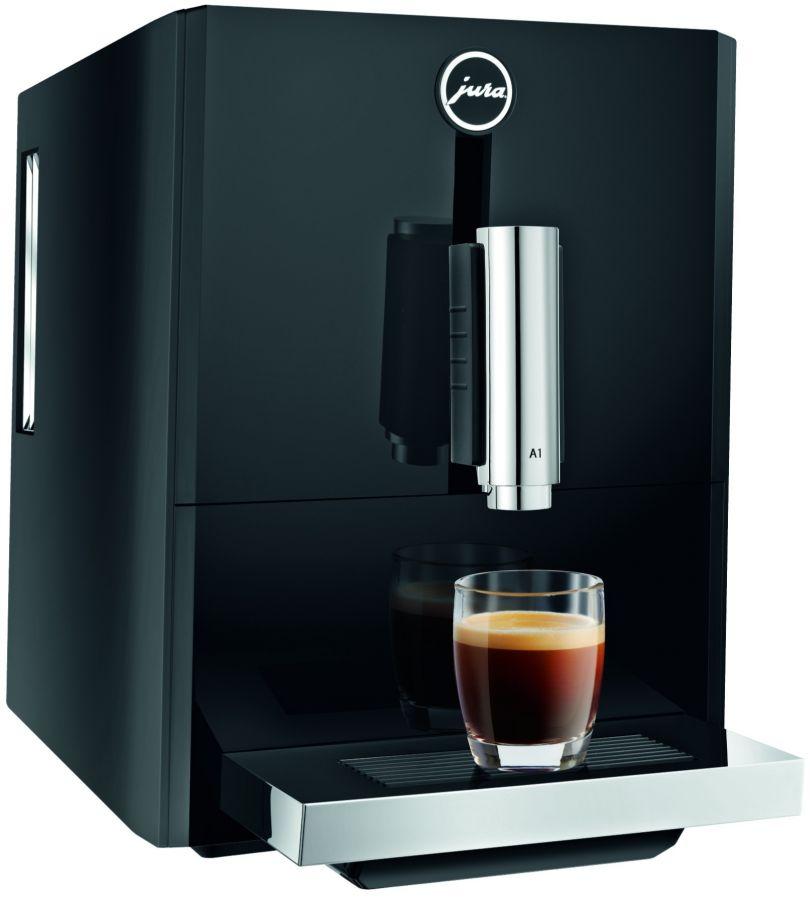 Jura A1 -kahviautomaatti, musta