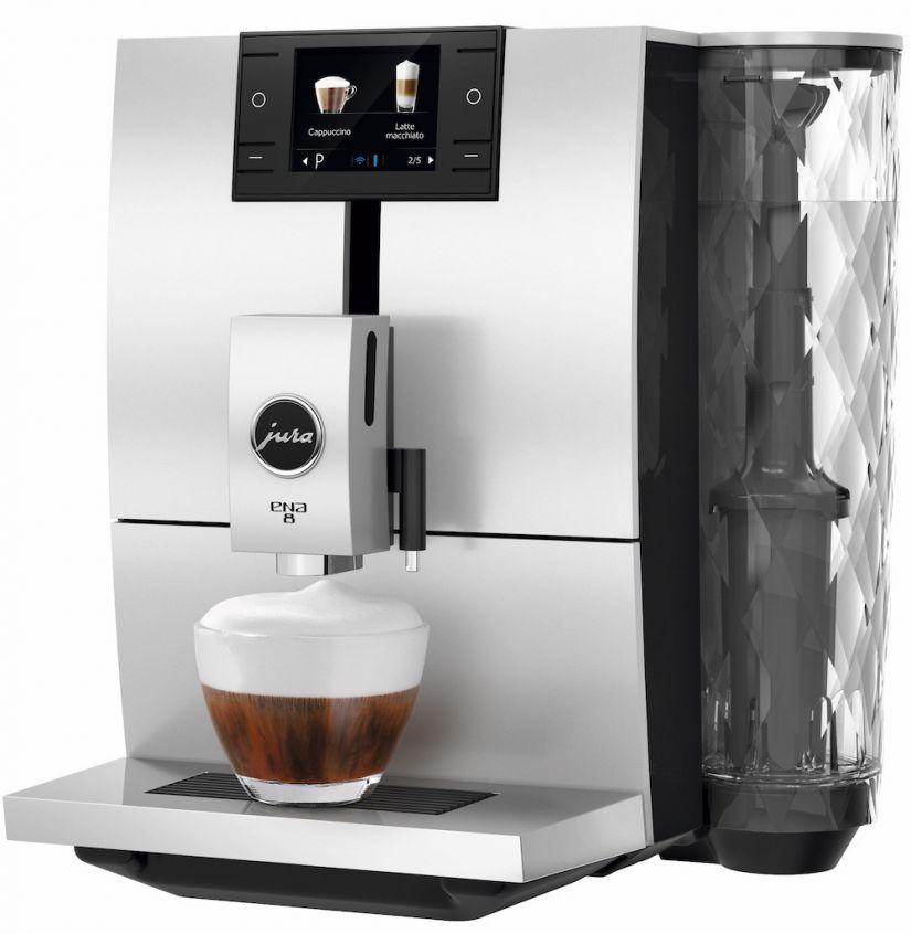 Jura ENA 8 Metropolitan Black fully automatic coffee machine