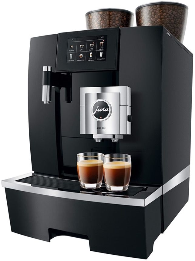 Jura GIGA X8c G2 Black Aluminium Professional kahviautomaatti