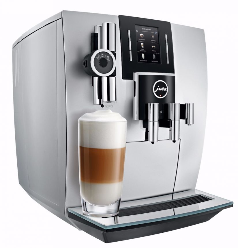Jura J6 Brilliant Silver automatic coffee machine