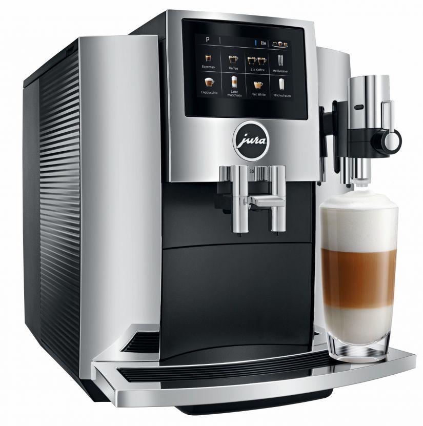 Jura S8 Chrome kahviautomaatti