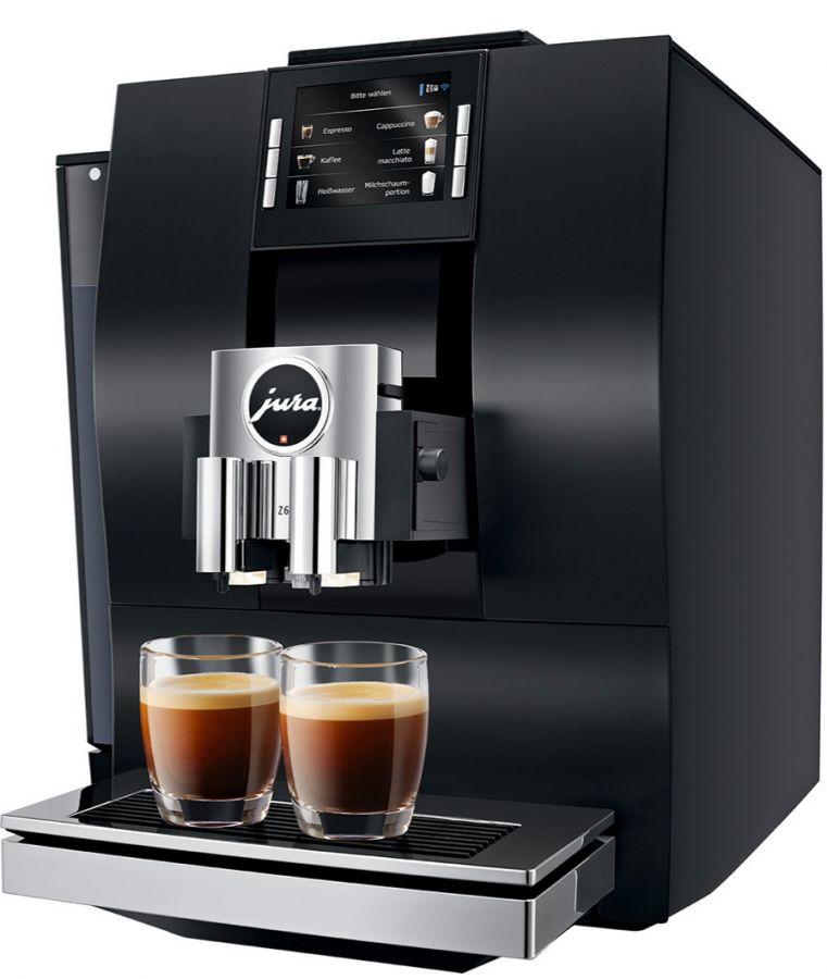 Jura Z6 Aluminium Black kahviautomaatti