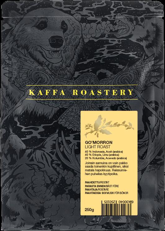 Kaffa Roastery Go'morron 250 g kaffebönor