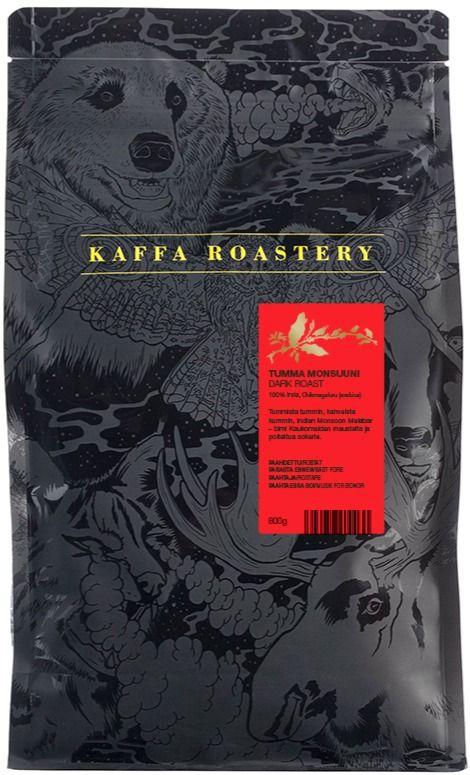 Kaffa Roastery Tumma Monsuuni 800 g kahvipavut