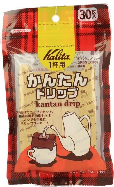 Kalita Kantan Drip engångskaffefilterhållare, 30 st