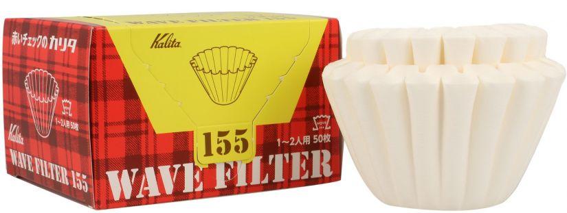 Kalita Wave #155 valkoiset suodatinpaperit 50 kpl