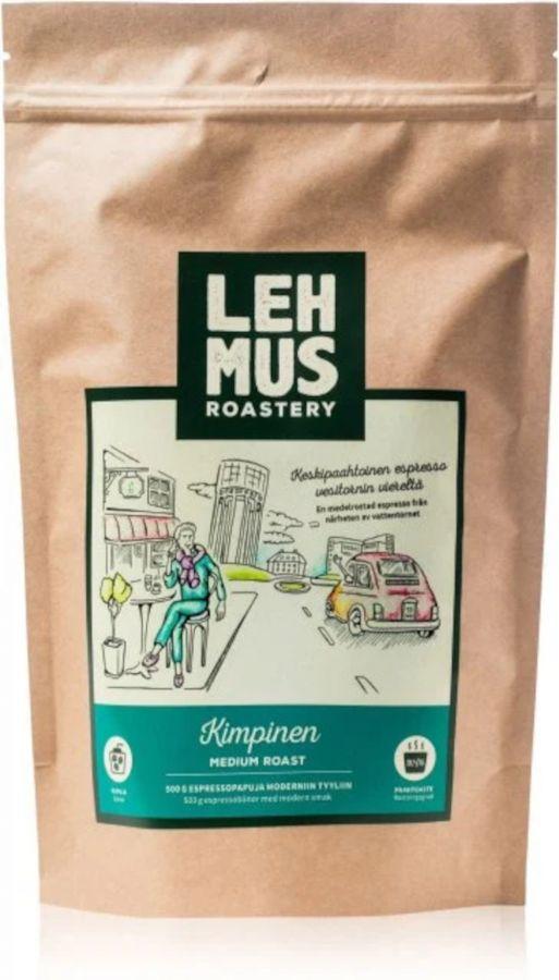 Lehmus Roastery Kimpinen espressokahvipavut 220 g