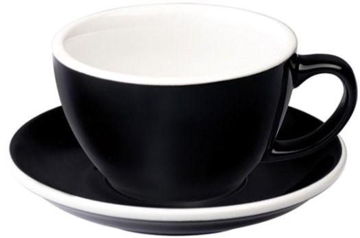 Loveramics Egg Black Cafe Latte Cup 300 ml
