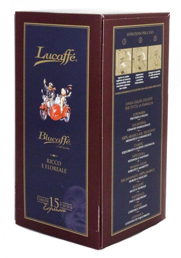 Lucaffé Blucaffé espresso pods 15 st