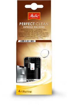 Melitta Perfect Clean Espresso rengöringstabletter 4 st