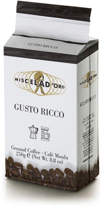 Miscela d'Oro Gusto Ricco 250 g jauhettu kahvi