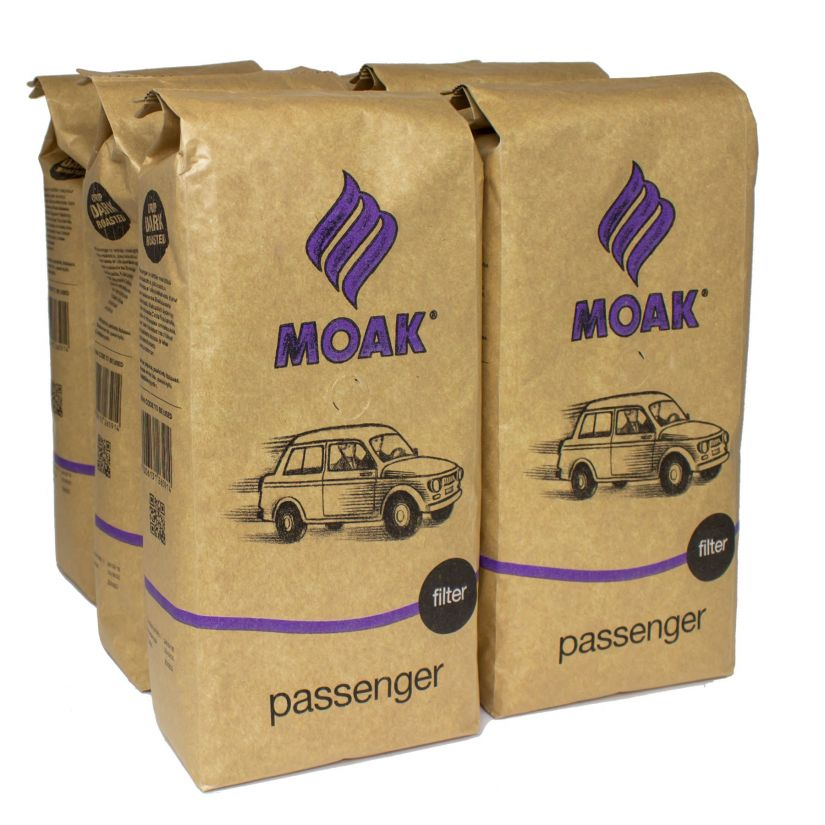 Moak Passenger tukkuerä 6 kg kahvipavut