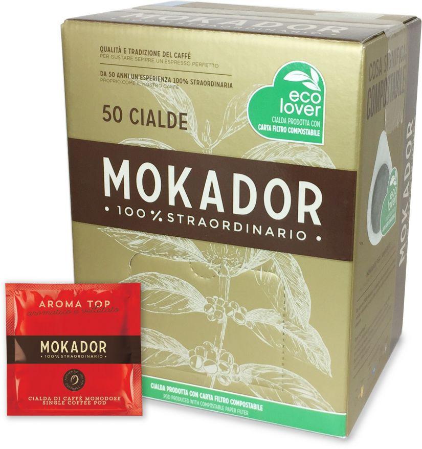 Mokador Aroma Top espresso pods 50 st