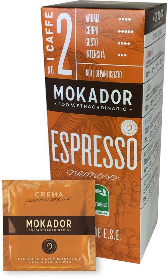 Mokador Crema Cremoso espresso pods 20 st