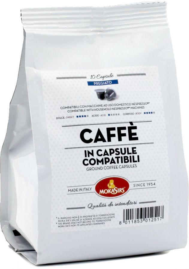 MokaSirs Pregiato Nespresso-yhteensopiva kahvikapseli 10 kpl