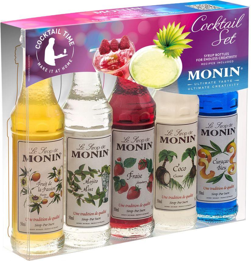 Monin Cocktail Set 5 makusiirappia