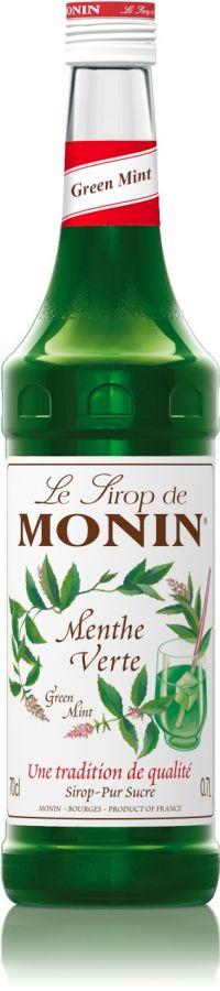 Monin Green Mint makusiirappi 700 ml