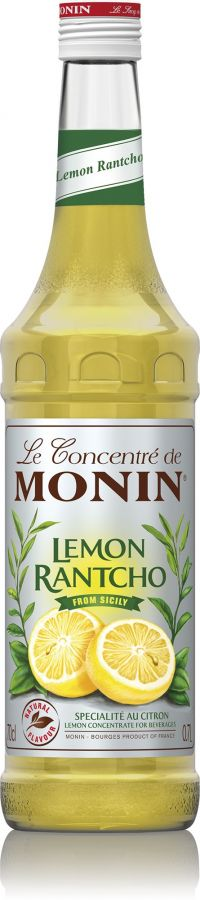 Monin Lemon Rantcho Sugar Free Concentrate 700 ml