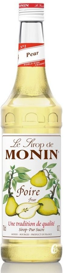 Monin Pear makusiirappi 700 ml