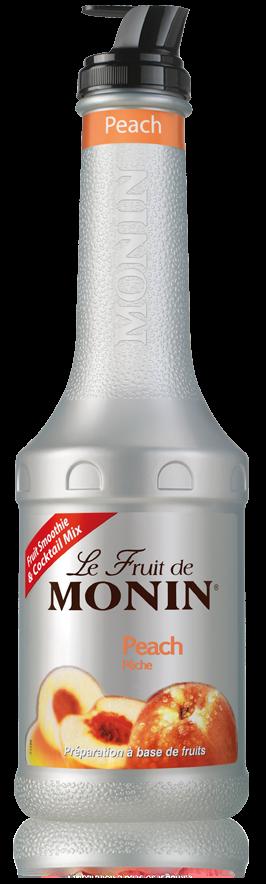 Monin Le Fruit fruktpuré Persika 1 l
