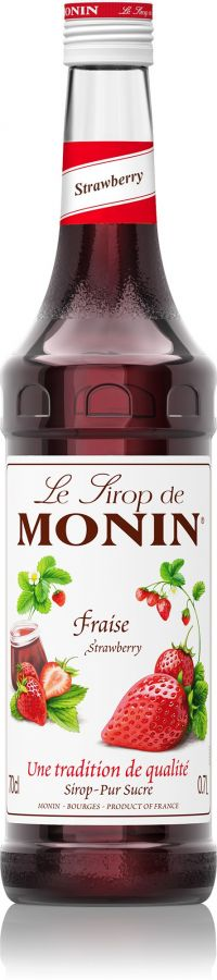 Monin Strawberry Syrup 700 ml