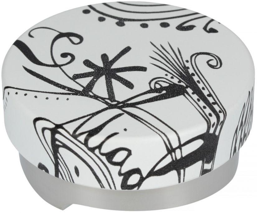 Motta Leveling Tool Black & White kahvitasoittaja, 58 mm
