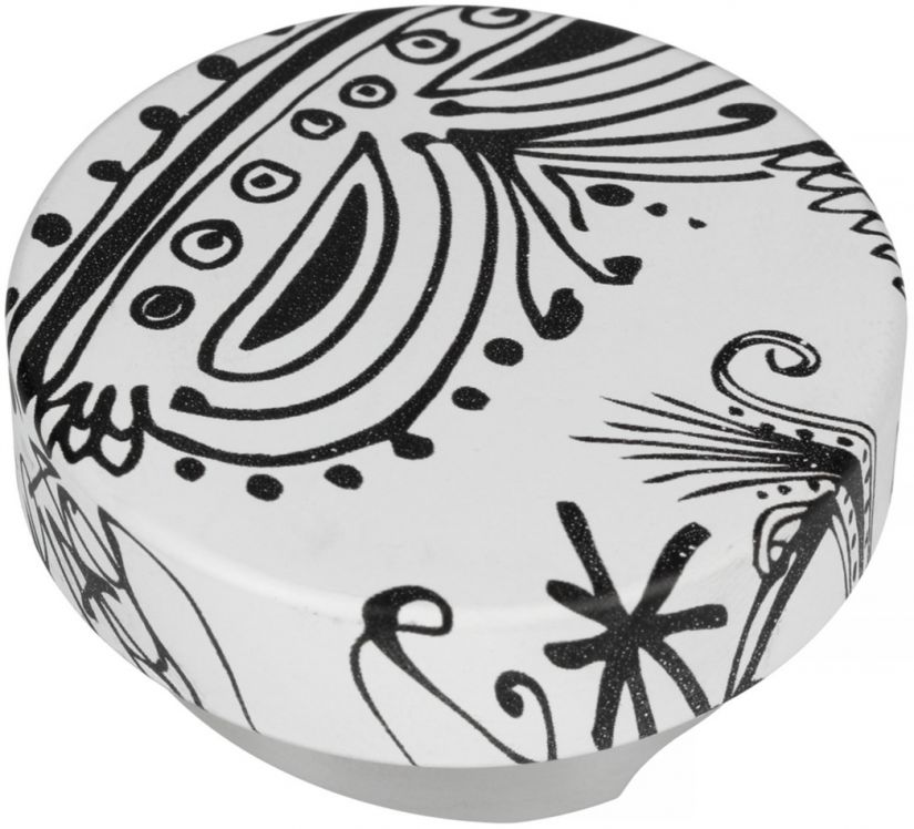Motta Leveling Tool Black & White kahvitasoittaja, 53 mm