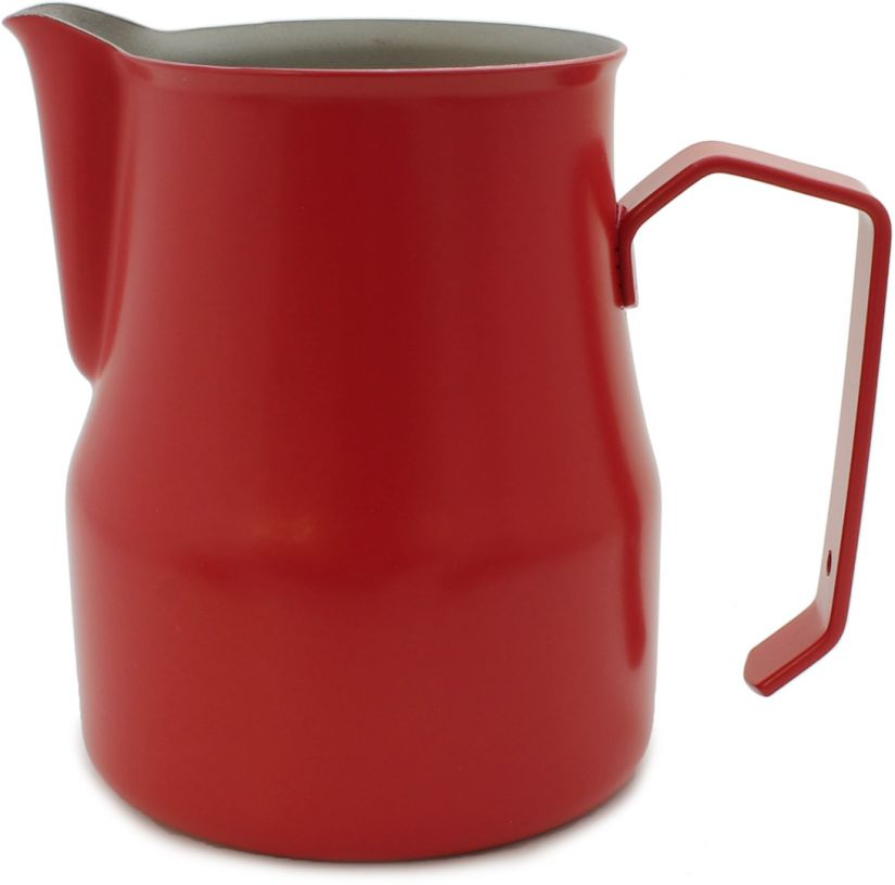 Motta Europa mjölkskumningskanna 500 ml, röd