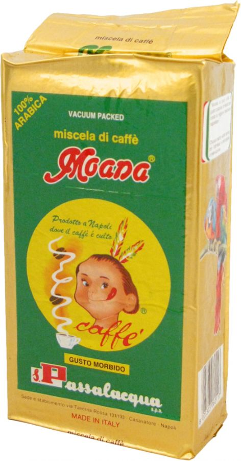 Passalacqua Moana 250 g jauhettu kahvi
