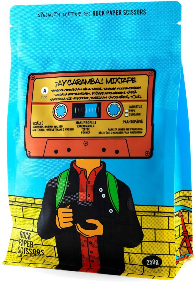 Record Coffee Company Ay Caramba Mixtape 250 g kahvipavut