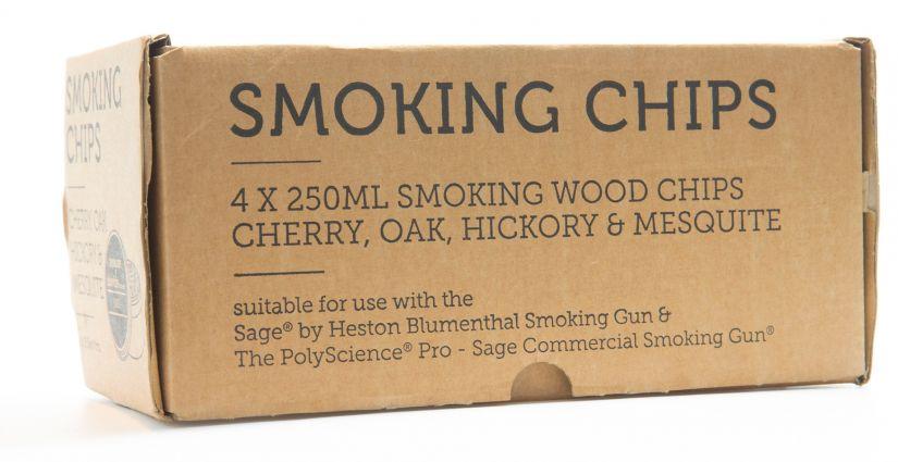 Sage Smoking Chip savustuslastut 4 x 250 ml