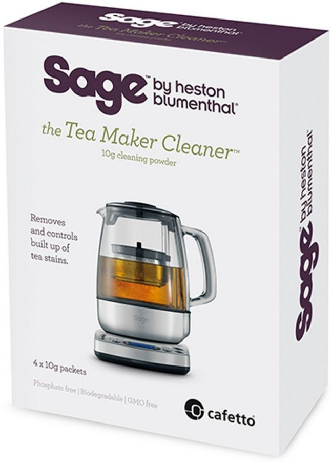 Sage Tea Maker Cleaner teenkeittimen puhdistusaine, 4 kpl