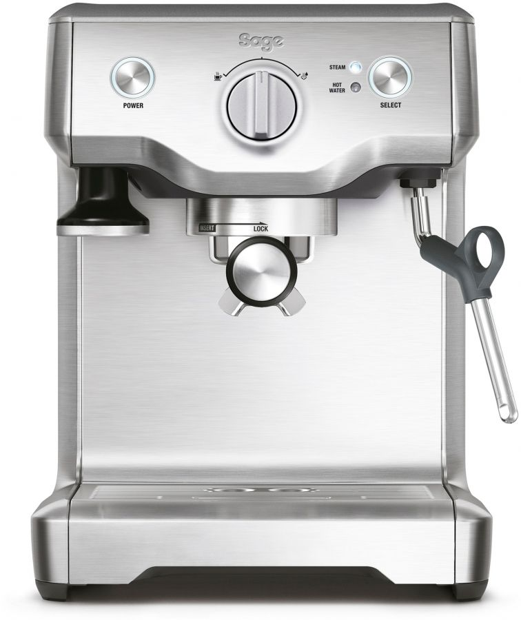 Sage the Duo Temp Pro espressokeitin, hopea