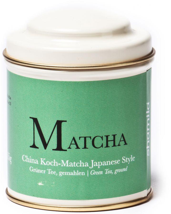 Shamila Kiinalainen matcha japanilaiseen tyyliin 65 g purkki