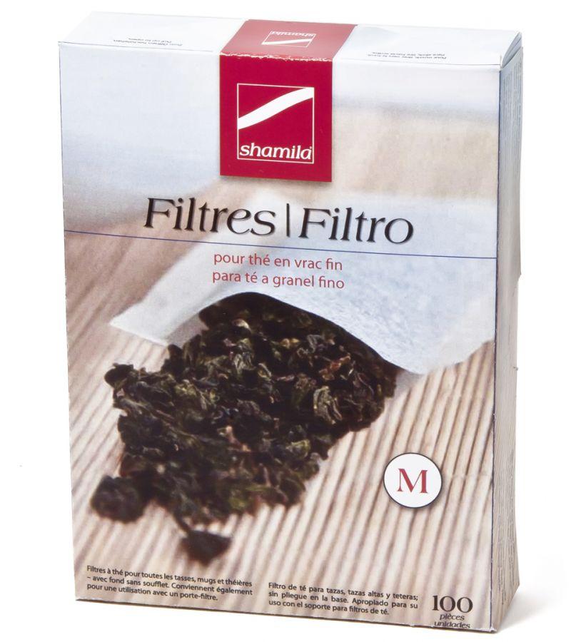 Shamila filter paper for tea 100 pcs, size M