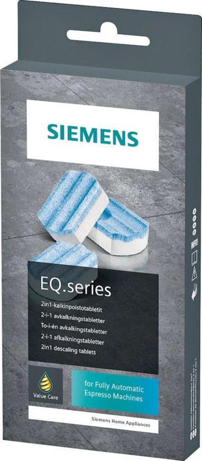 Siemens EQ.series avkalkningstabletter för kaffemaskin, 3 st