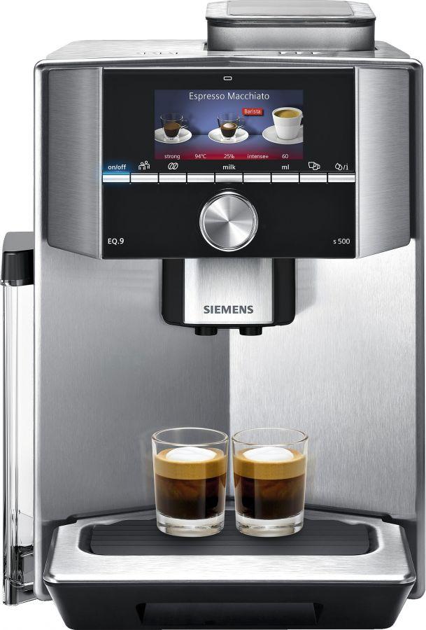 Siemens EQ.9 Series 500 -kahviautomaatti, teräs TI905201RW