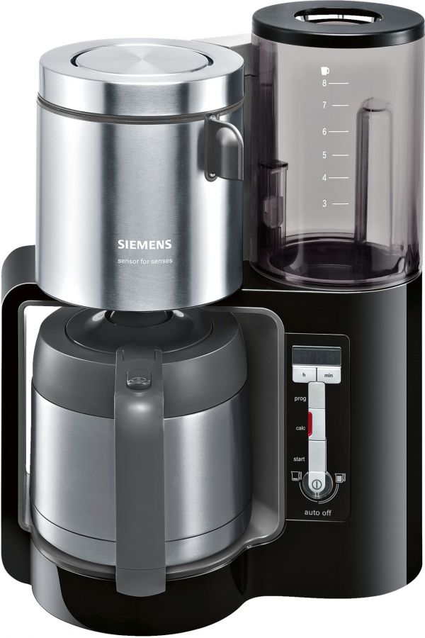 Siemens Sensor For Senses TC86503 8 Cup Coffee Maker With Thermo Jug
