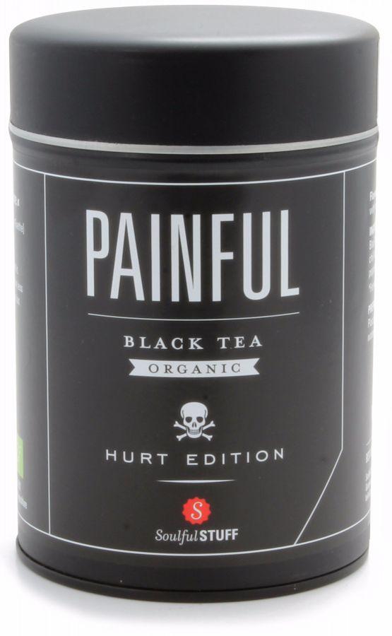 Soulful Stuff Painful Black Tea, Tin 160 g