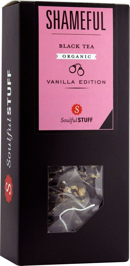 Soulful Stuff Shameful Black Tea, 15 Tea Bags