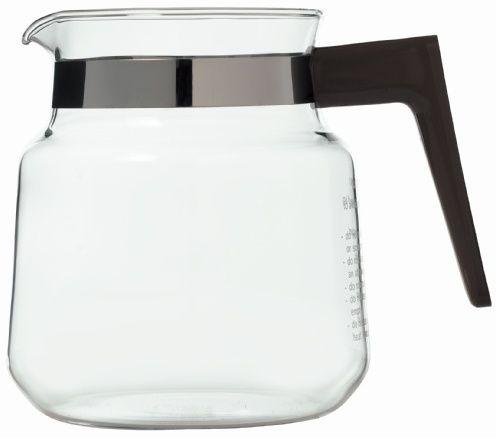 Moccamaster lasikannu K-sarjan keittimiin, musta