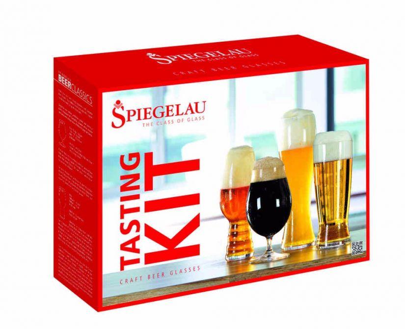 Spiegelau Tasting Kit: IPA, Tulip, Hefeweizen ja Lager