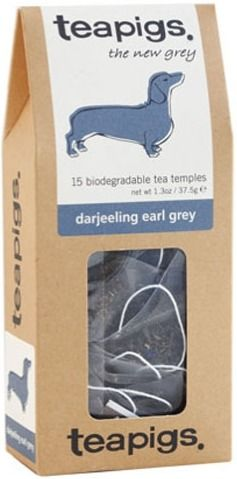 Teapigs Darjeeling Earl Grey 15 teepussia